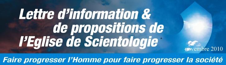 Propositions de l'Eglise de Scientologie décembre 2009