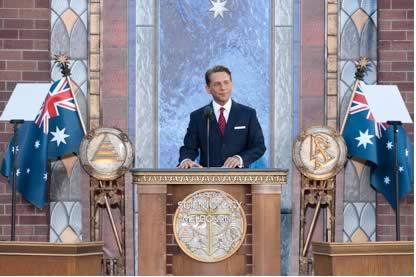 inauguration de l'Eglise de Scientologie de Melbourne