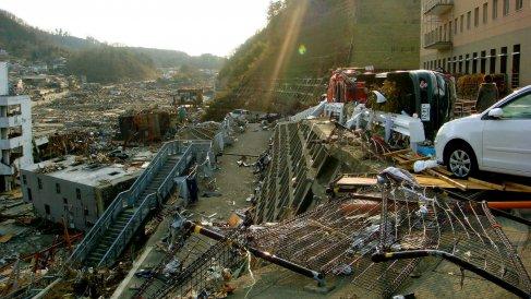 tsunami au Japon