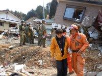 aide après le tsunami du Japon