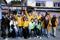 aider les survivants du tsunami au Japon