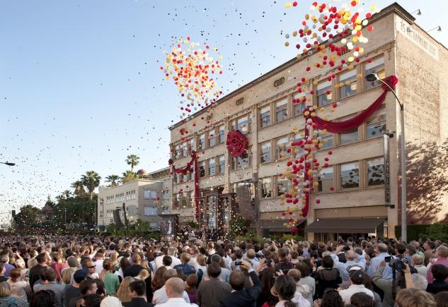 La nouvelle Eglise de Scientologie de Pasadena