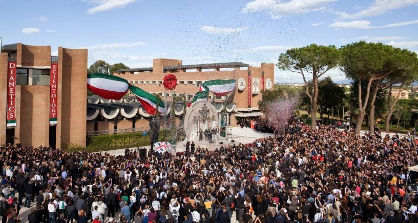 La nouvelle Eglise de Scientologie de Rome