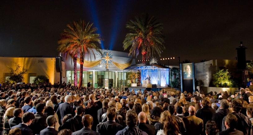 La nouvelle Eglise de Scientologie de Las Vegas