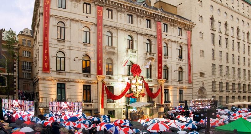 La nouvelle Eglise de Scientologie de Londres