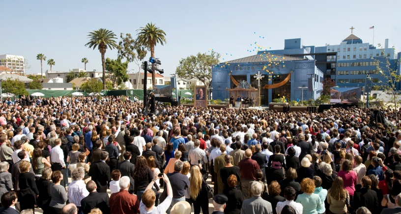 La nouvelle Eglise de Scientologie de Los Angeles