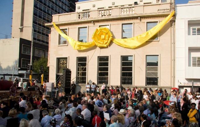 Le nouveau centre de Scientologie de Johannesburg