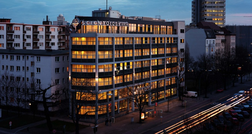 La nouvelle Eglise de Scientologie de Berlin