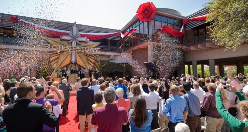 La nouvelle Eglise de Scientologie de Dallas