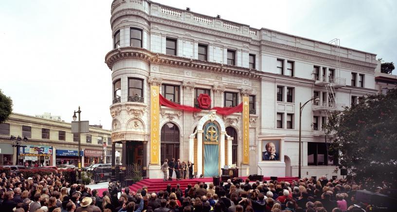 La nouvelle Eglise de Scientologie de San Fransisco