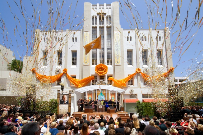 Une nouvelle Eglise de Scientologie à Orange County, Californie