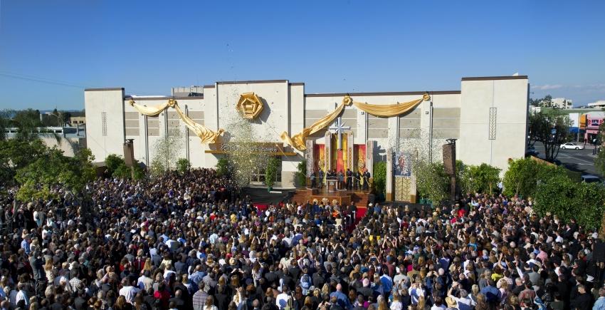 La nouvelle Eglise de Scientologie d'Inglewood