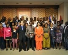 Prétoria : jeunes africains