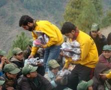 Aide aux victimes des tremblements de terre au Pakistan