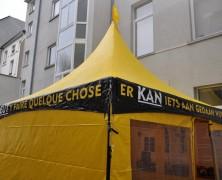 Exposition des « ministres volontaires » de Scientologie à Bruxelles
