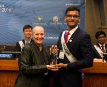 Un jeune canadien récompensé pour défendre les droits