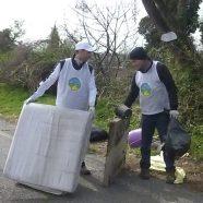 Des scientologues italiens à l'œuvre pour maintenir leur quartier propre