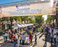 Clearwater : Fête de quartier avec divertissements et repas