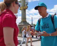 Prévention contre les drogues : les scientologues français agissent