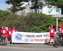 CCDH : Un raid à vélo pour dénoncer les abus psychiatriques