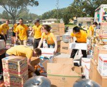 Les bénévoles de l'Eglise de Scientologie en action