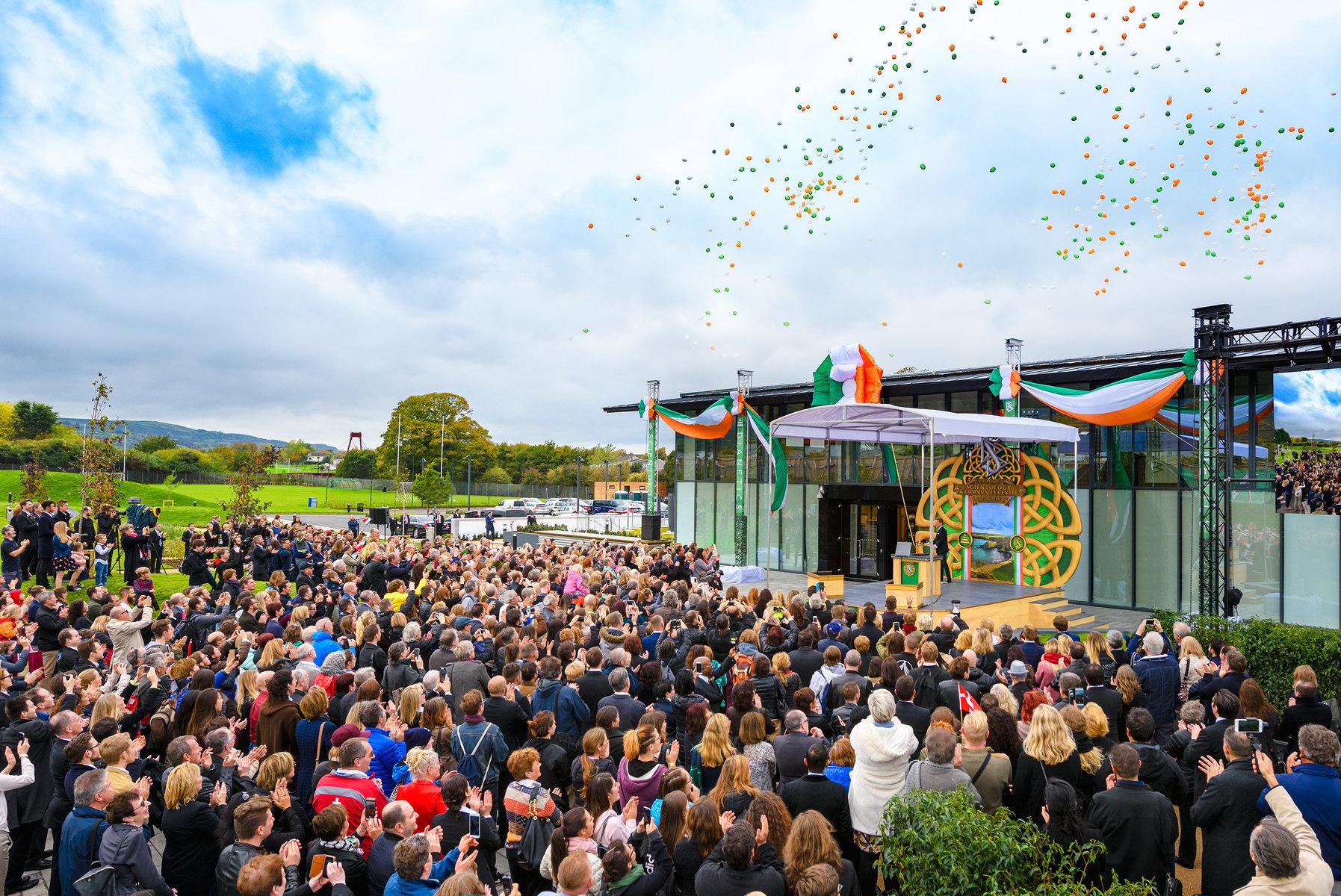 Inauguration d'un centre de Scientologie pour l'interaction et le partenariat dans le Sud de Dublin