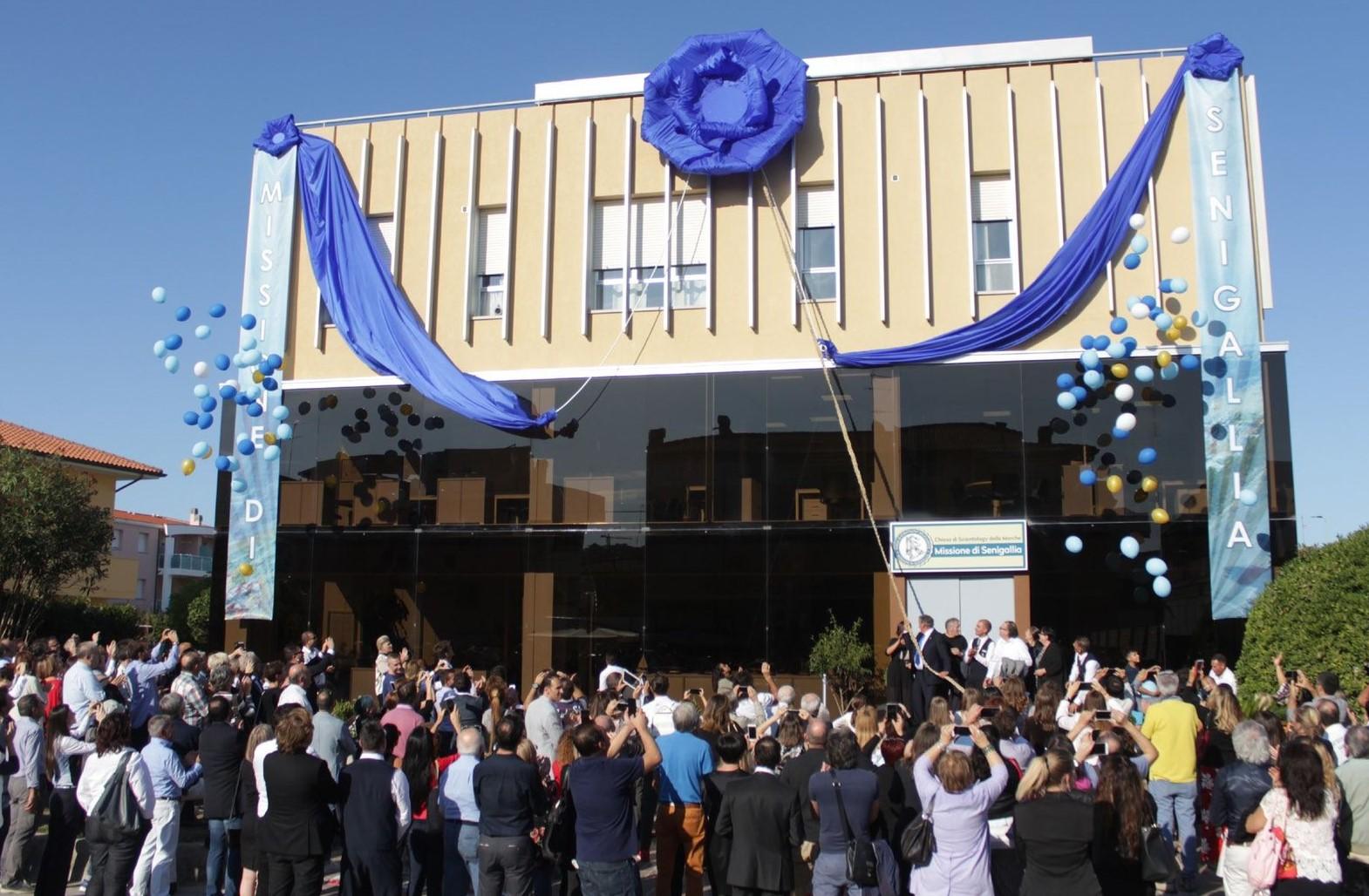 Italie : Inauguration de la nouvelle Mission de Scientologie de Senigallia