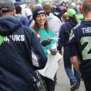 Les scientologues apportent la vérité sur la drogue aux fans de l'équipe des Seahawks