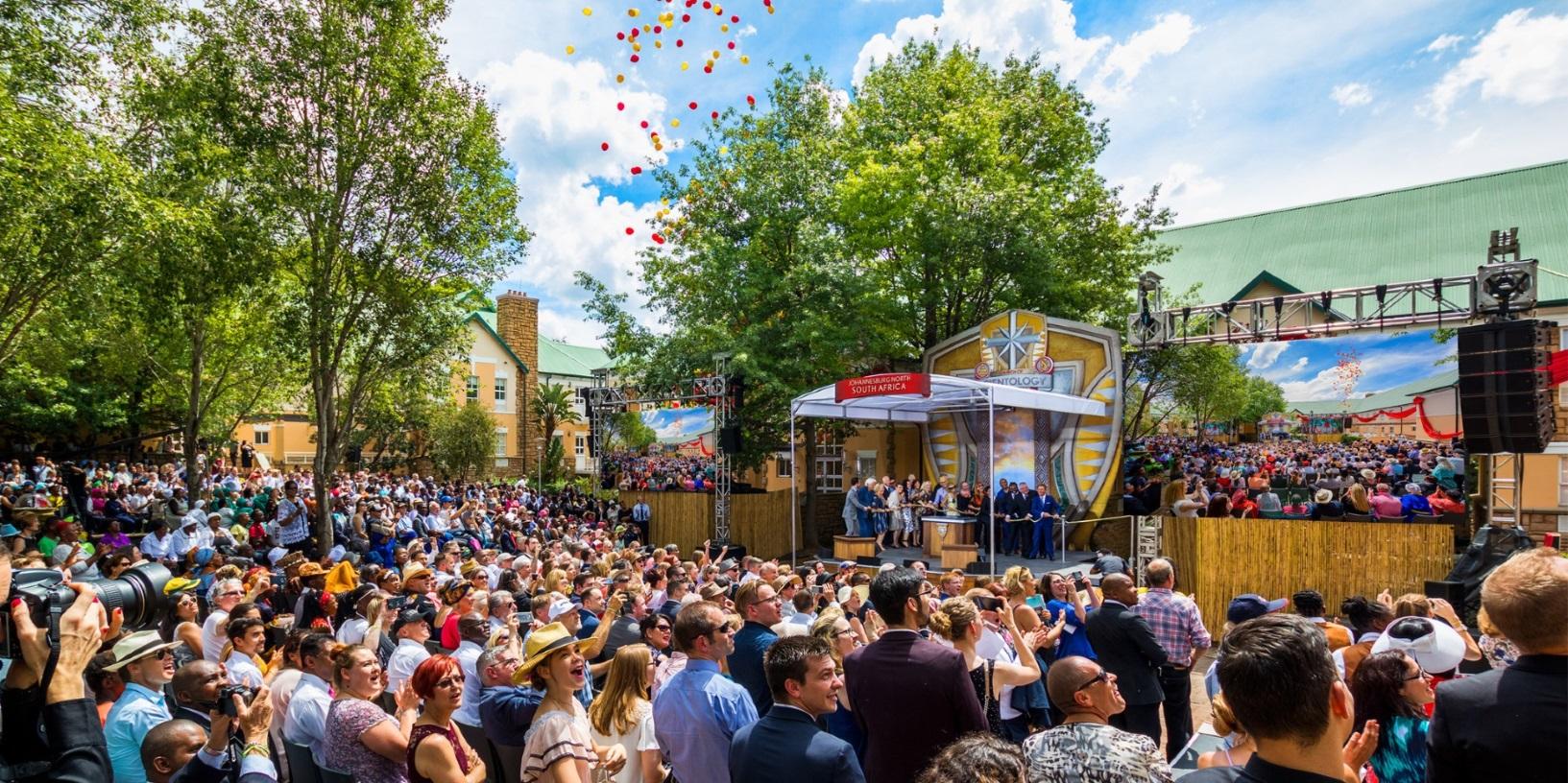 Johannesburg accueille une nouvelle église de Scientologie