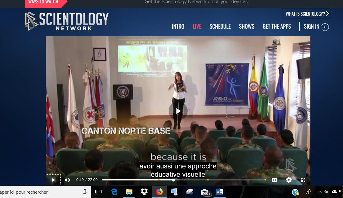 Anniversaire du fondateur de la Scientologie: une dissémination sans relâche