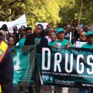 La 'Marche des 100 hommes' pour dire non à la drogue