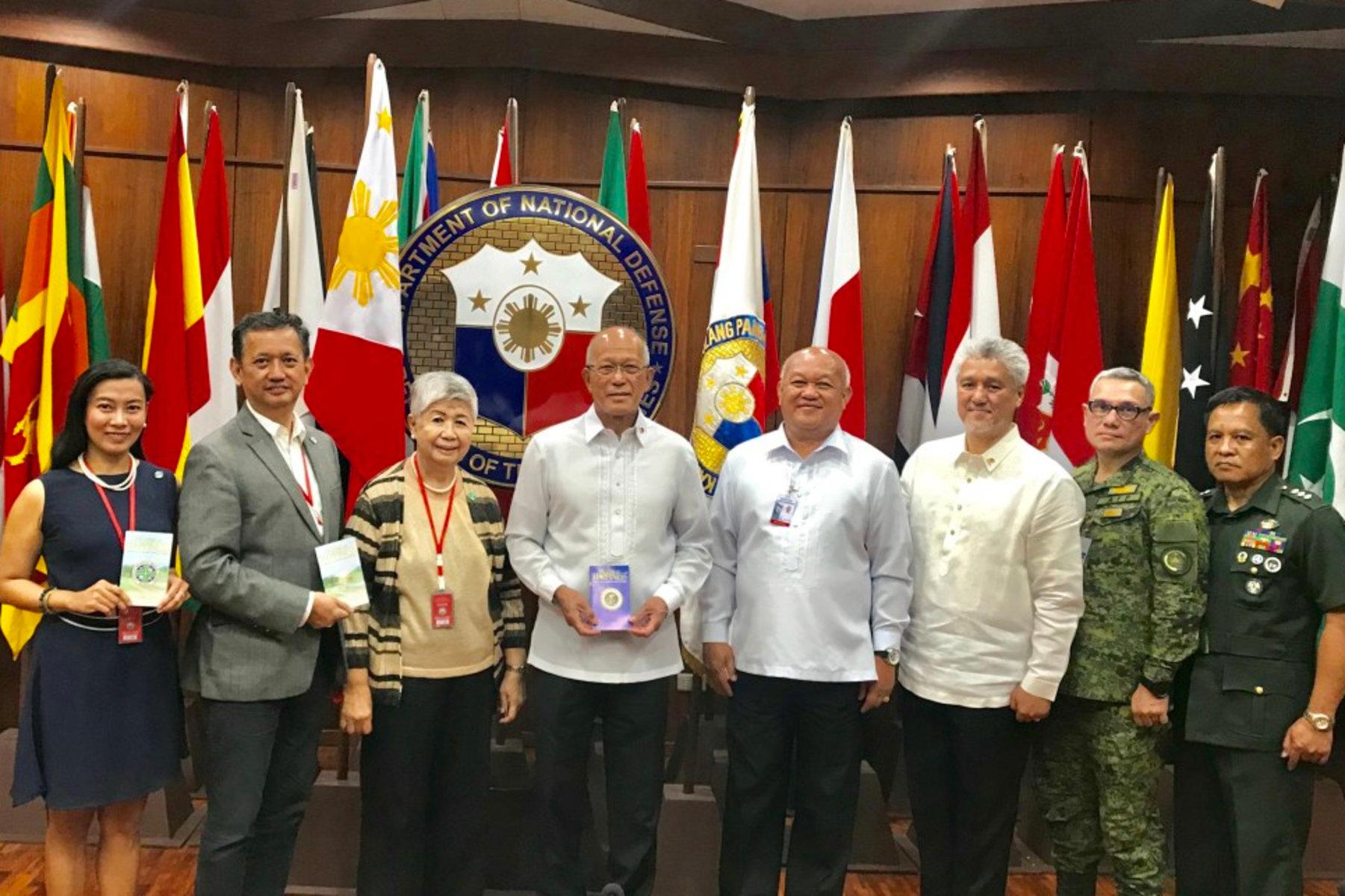 Solution durable à la criminalité, aux drogues et à la corruption aux Philippines
