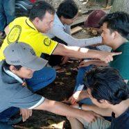 Un bénévole aide l'Indonésie à faire face aux catastrophes