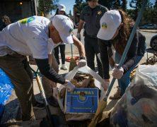Premier anniversaire d'une initiative de nettoyage
