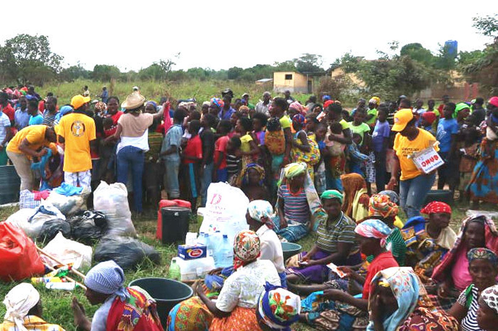 Les ministres bénévoles réagissent face au cyclone au Mozambique