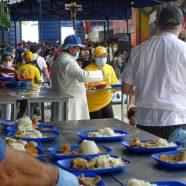 Une tente jaune vif à la frontière du Venezuela est porteuse d'espoir