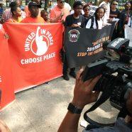 Marche de Harlem 'Paix dans les rues' contre la violence armée