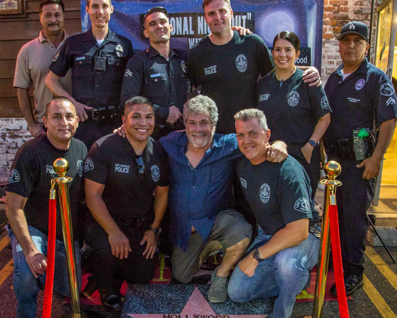 Soirée nationale contre le crime sous l'enseigne d'Hollywood