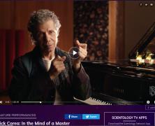 Chick Corea visible sur Scientology Network avec son album «The Spanish Heart Band – Antidote»