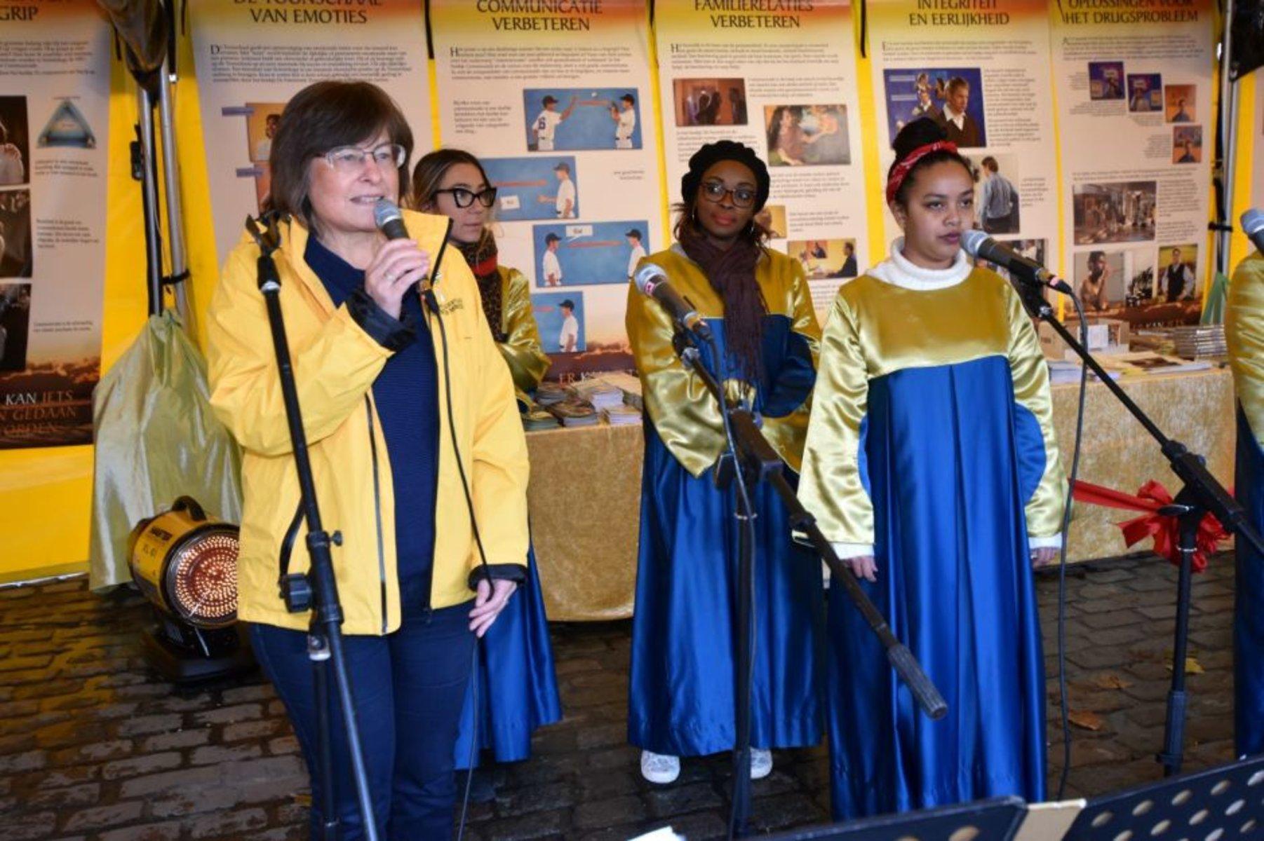 Les ministres bénévoles de Scientology se sont posés à Anvers