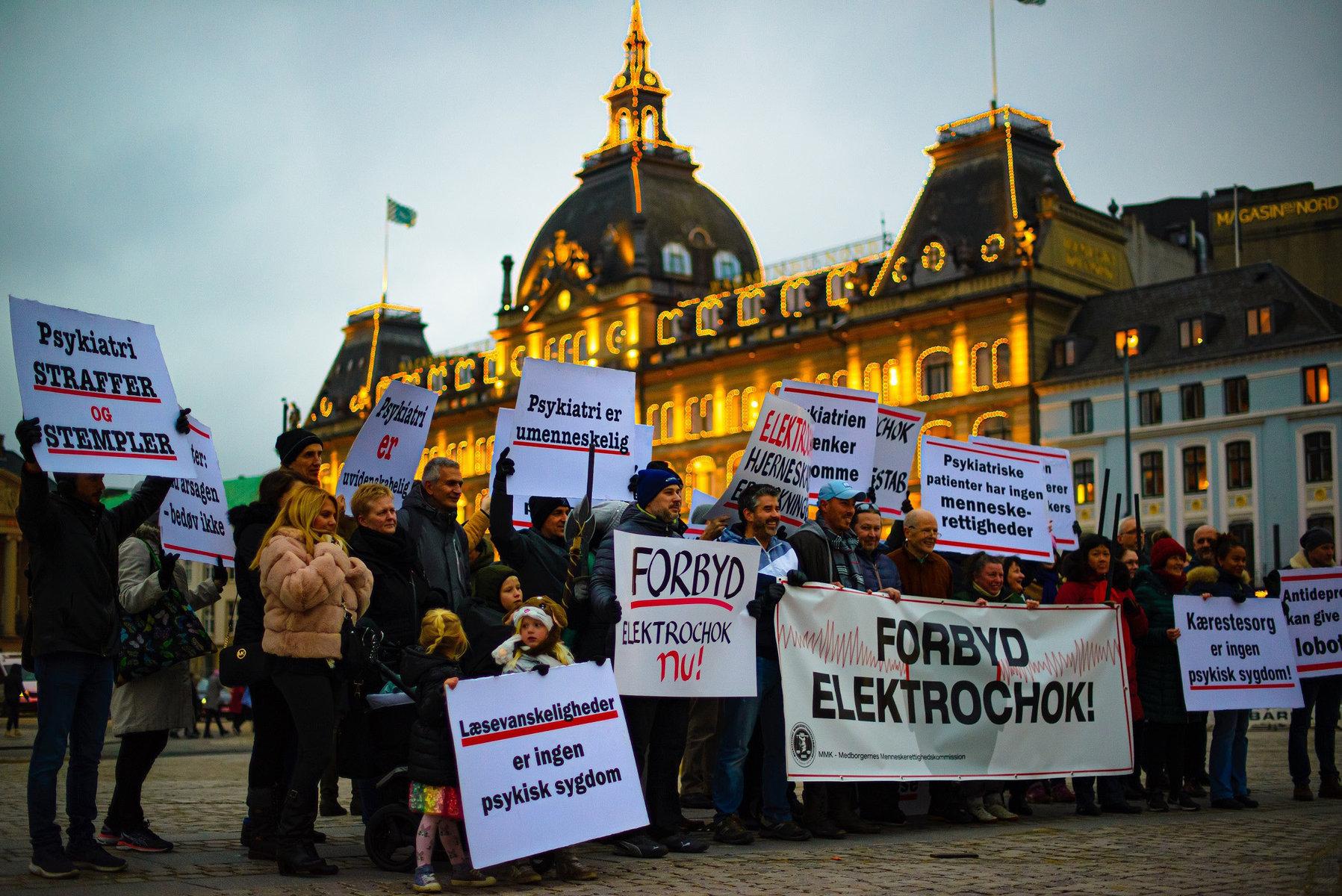Un groupe de choc danois s'oppose à la torture