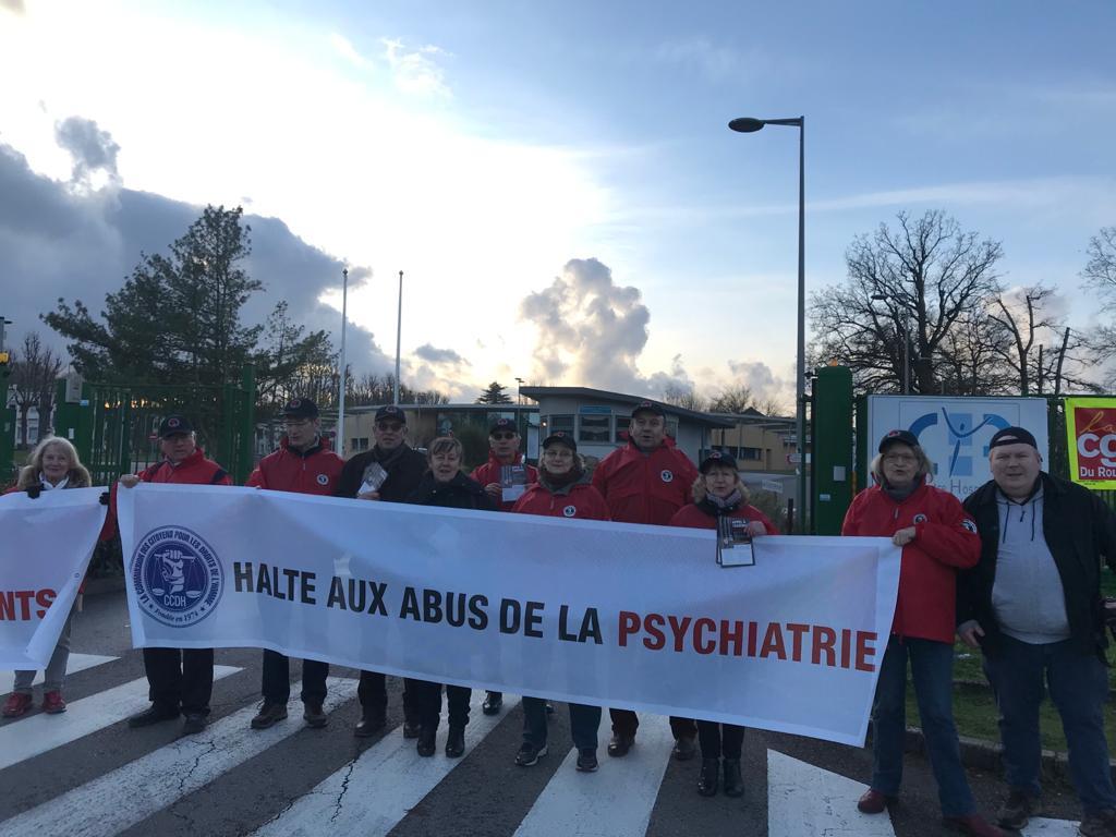 Non aux abus psychiatriques
