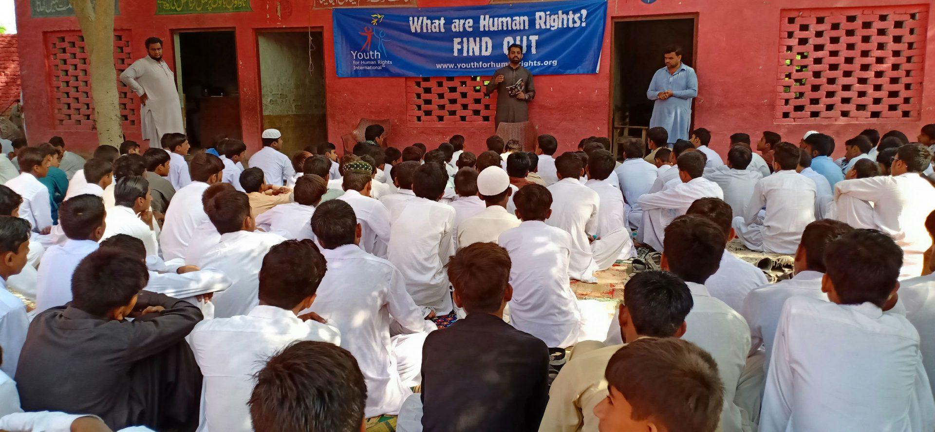 Éduquer les jeunes Pakistanais aux droits de l'Homme