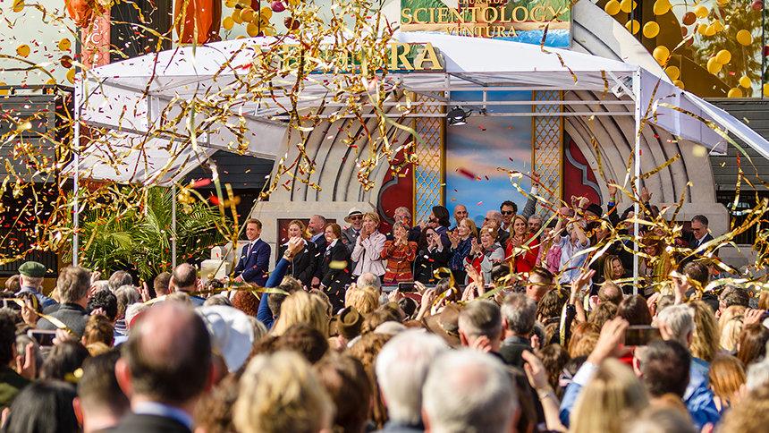 Une nouvelle Eglise de Scientology a ouvert ses portes à Ventura, la ville du surf