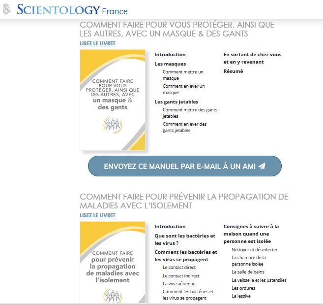 L'Église de Scientology Internationale veille à ce que ses membres et la collectivité restent en bonne santé