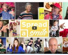 """LA VIDEO MUSICALE """"SPREAD A SMILE"""" DEPASSE LES 10 MILLIONS DE VUES SUR YOUTUBE"""