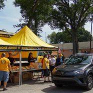 Les bénévoles de l'Eglise de Scientology aident les gens à rester en bonne santé