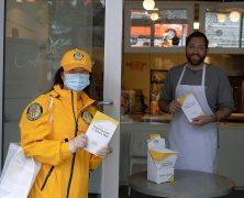 Les scientologues de Vancouver s'assurent que les habitants restent en bonne santé