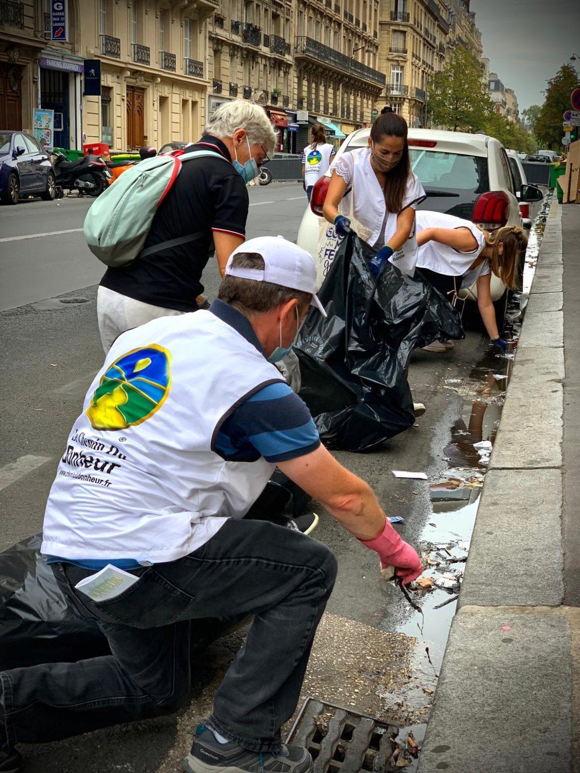 Journée mondiale de la propreté avec le Chemin du bonheur