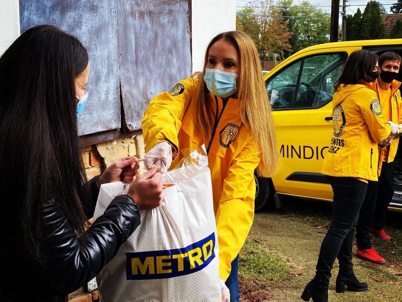 Les Ministres Volontaires de Scientology tendent la main à la Hongrie non épargnée